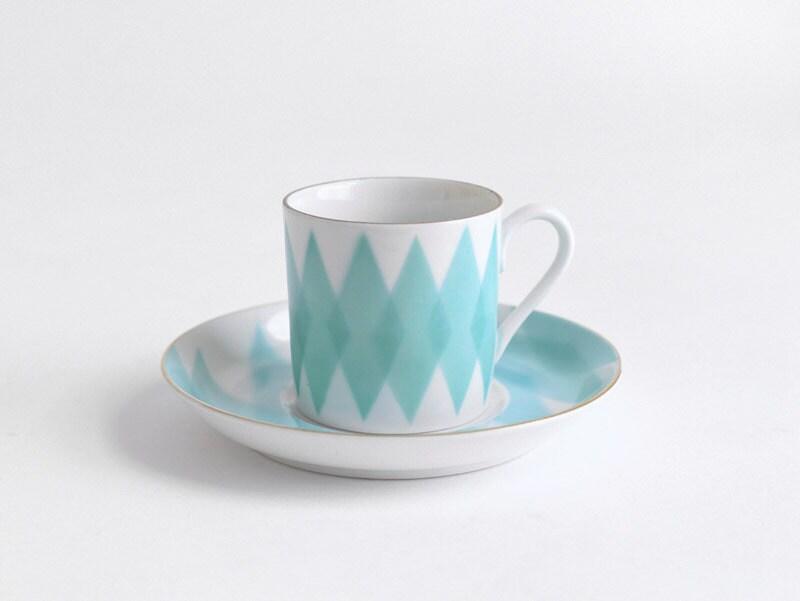 Geometric Coffee Cup - Tea, Mug, Mid Century, Modern, Retro, Kitchen - Hindsvik