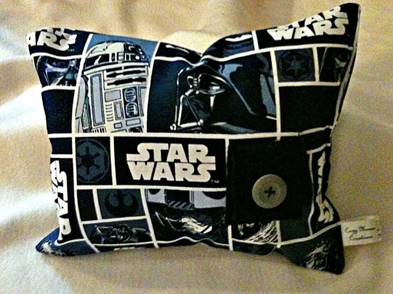 Star Wars Tooth Fairy Pillow with Black Pocket