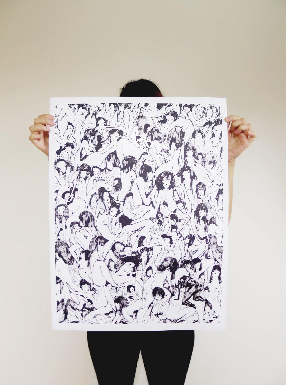 Naked Ladies Poster
