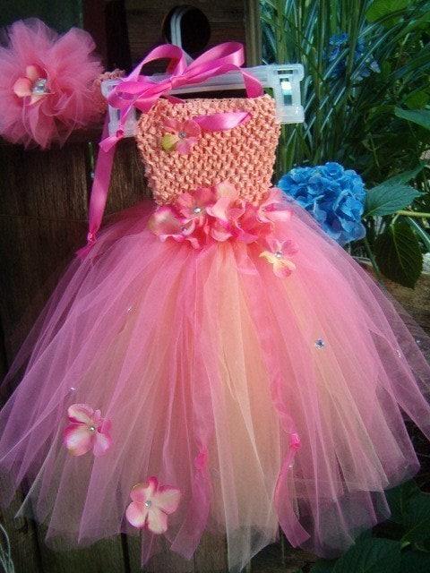 Custom Infant Crochet Tutu Dress In Sizes 03 6 9 12 18 mon Pageant Wedding