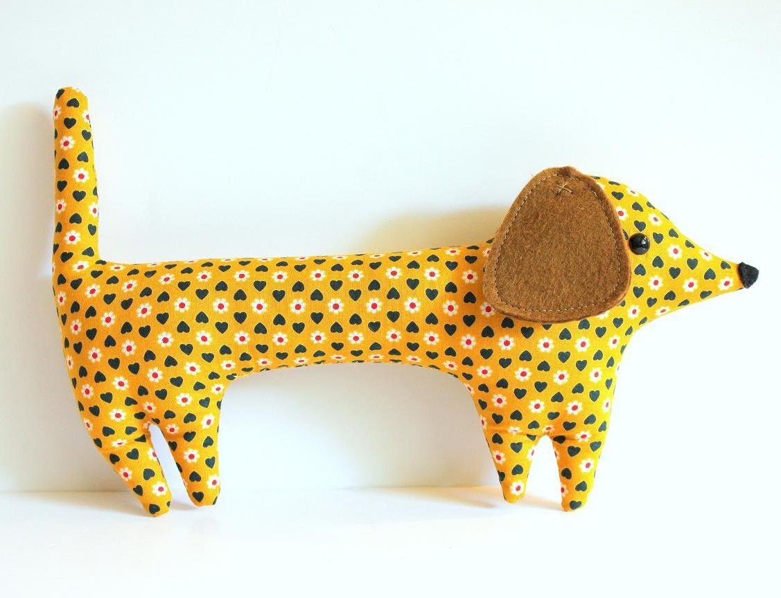 dachshund plush