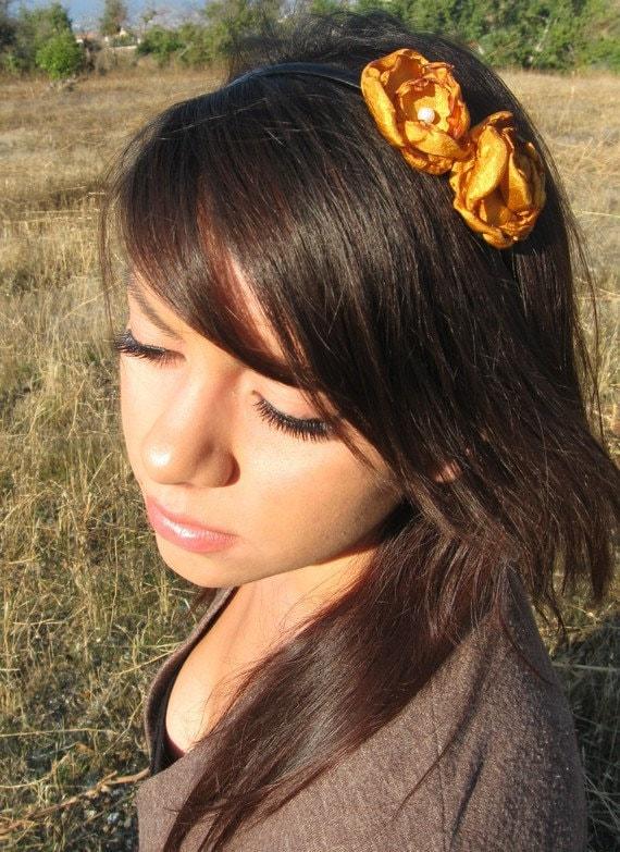 Rust Romance headband