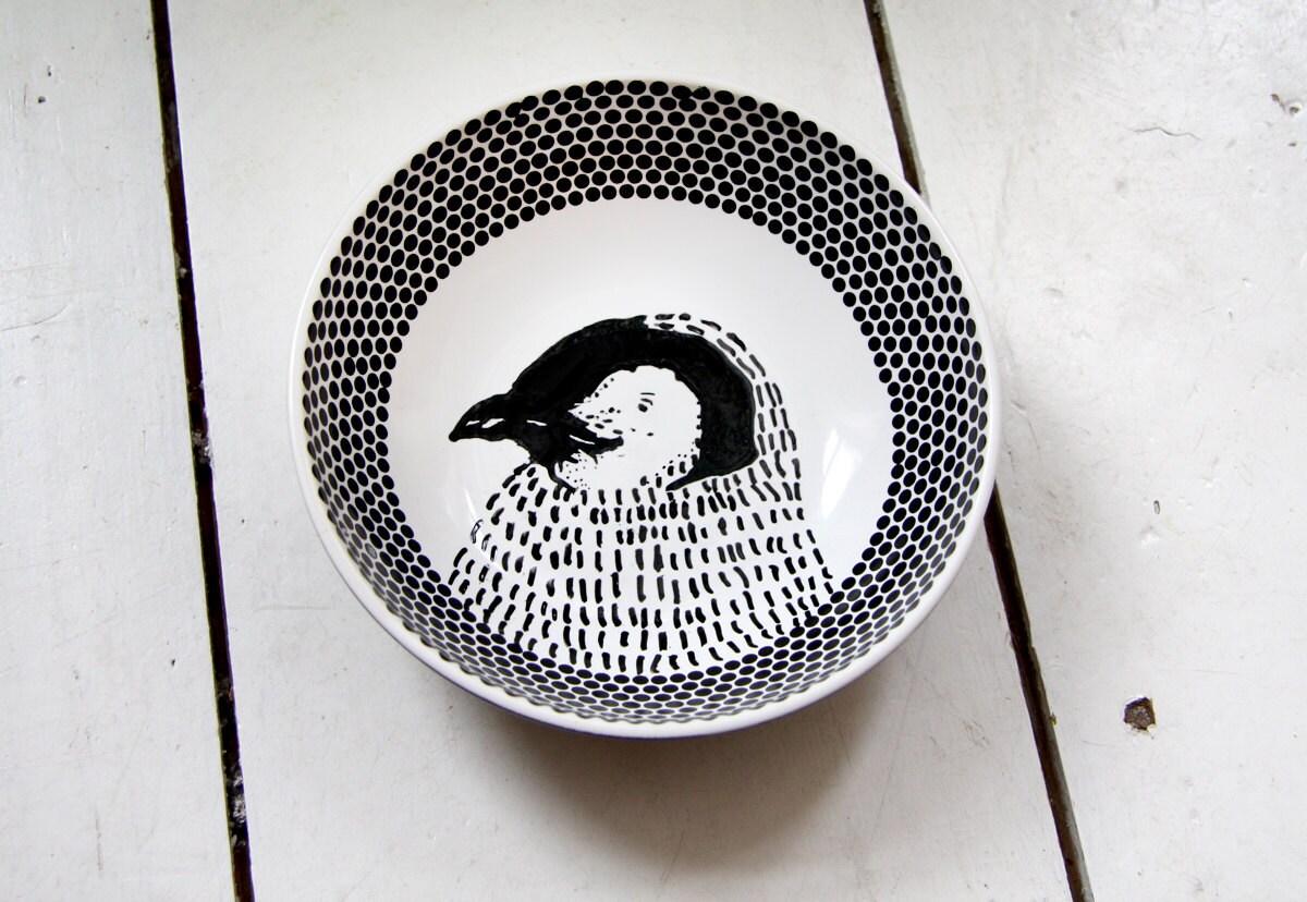 Bowl - Penguin for breakfast