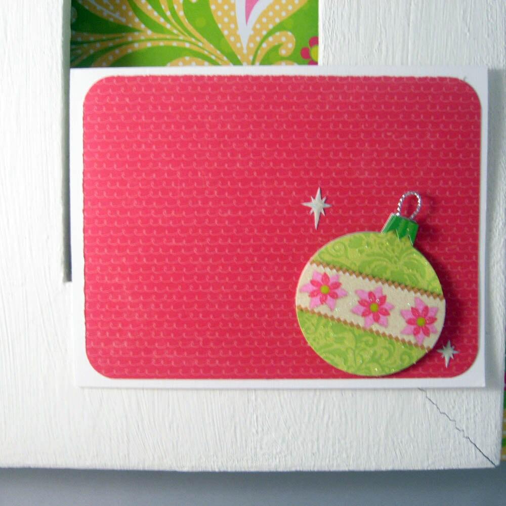 Christmas B-bomb Card