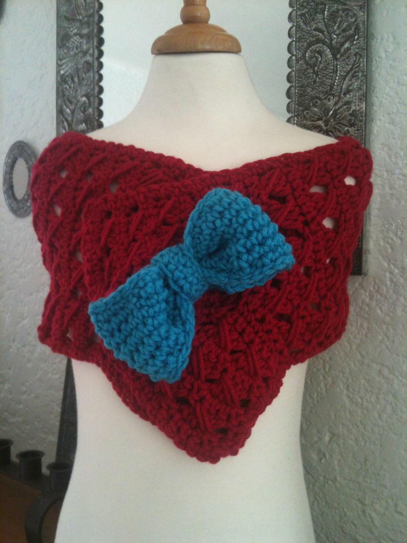 Scarflette/Wrap Crochet Pattern PDF