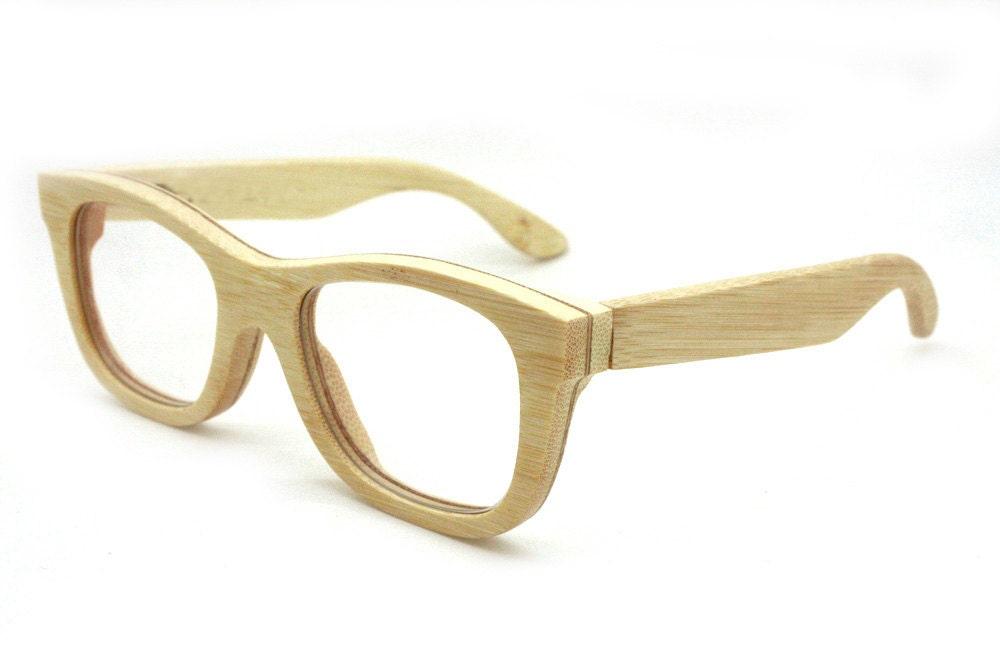 bamboo eyeglass frames