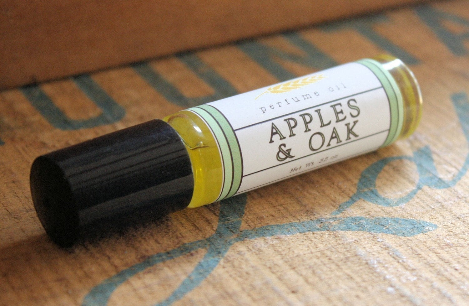 Apples and Oak Perfume Oil Coconut Hemp Roll On