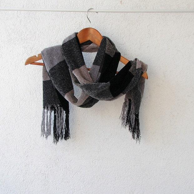 Mens Scarf Rayon Chennille Scarf Women scarf - DamovFashion