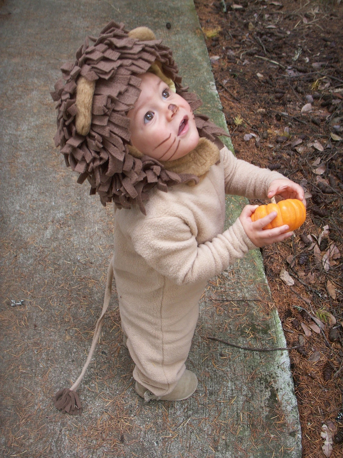 Lion Halloween Costume for Boys or Girls - BooBahBlue