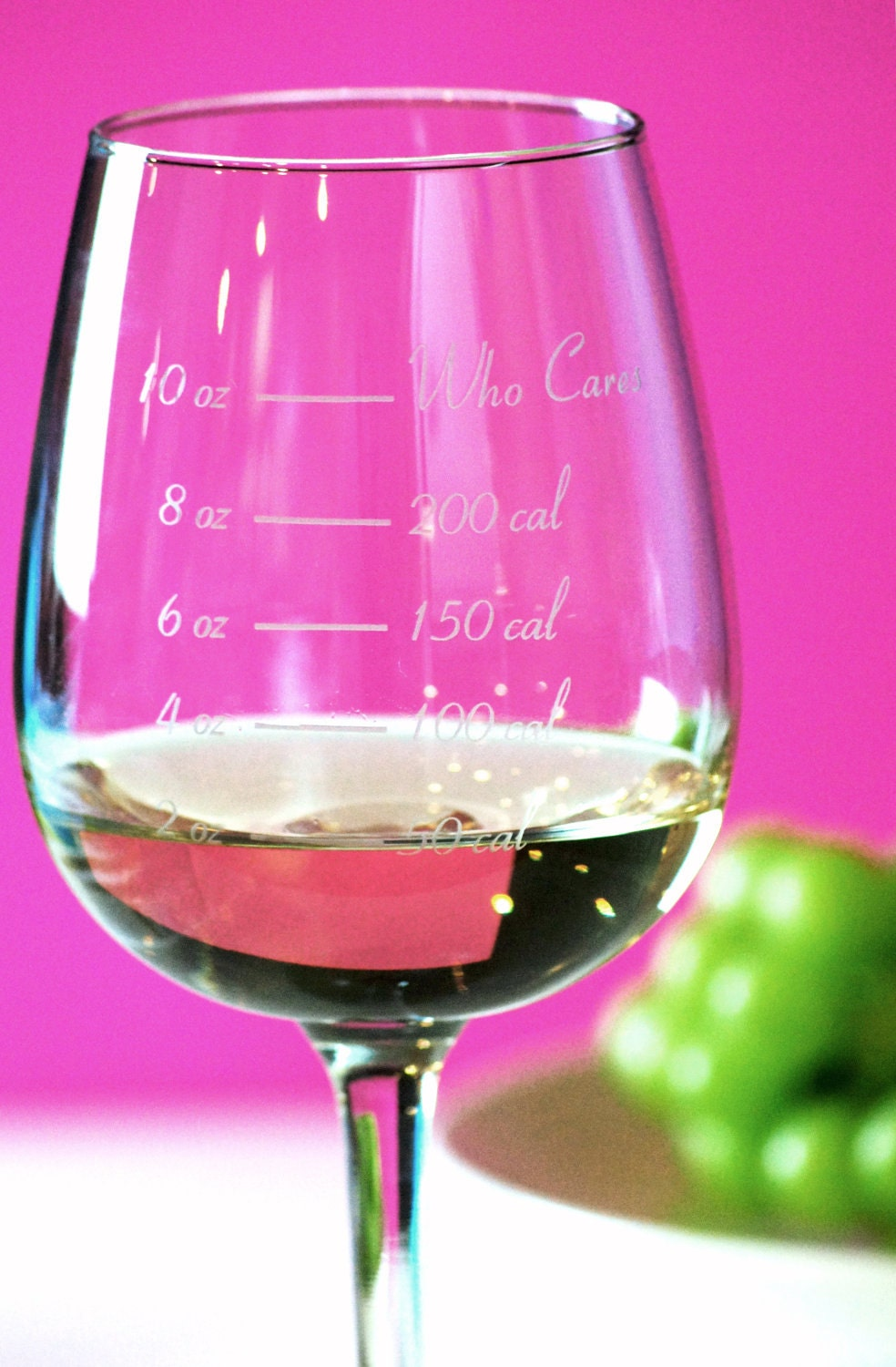 Caloric Cuvee: The calorie counting wine glass - CaloricCuvee