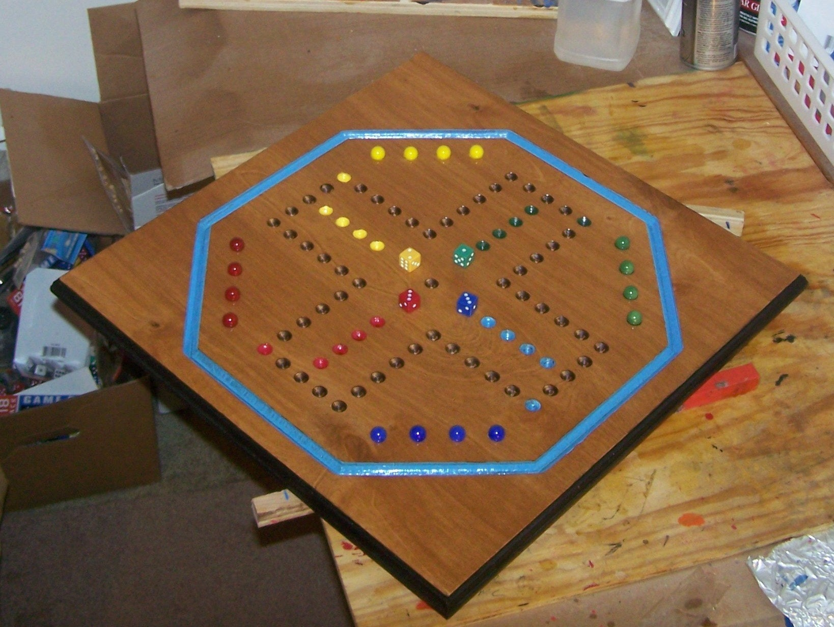 Wooden Aggravation Marble Game Board Free Software And Shareware