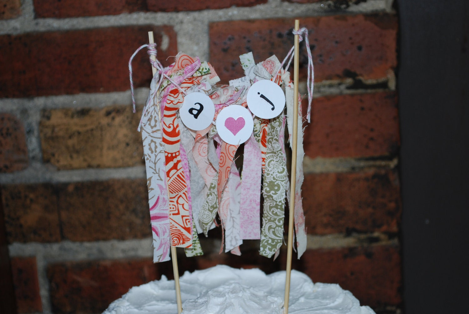 Bridal Shower Cake Topper, Wedding Cake Topper
