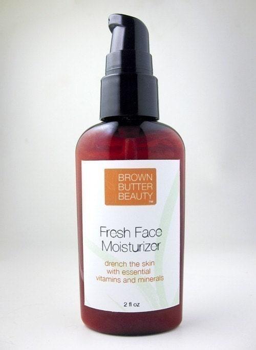 Fresh Face Cream Moisturizer with pomegranate- excellent makeup primer