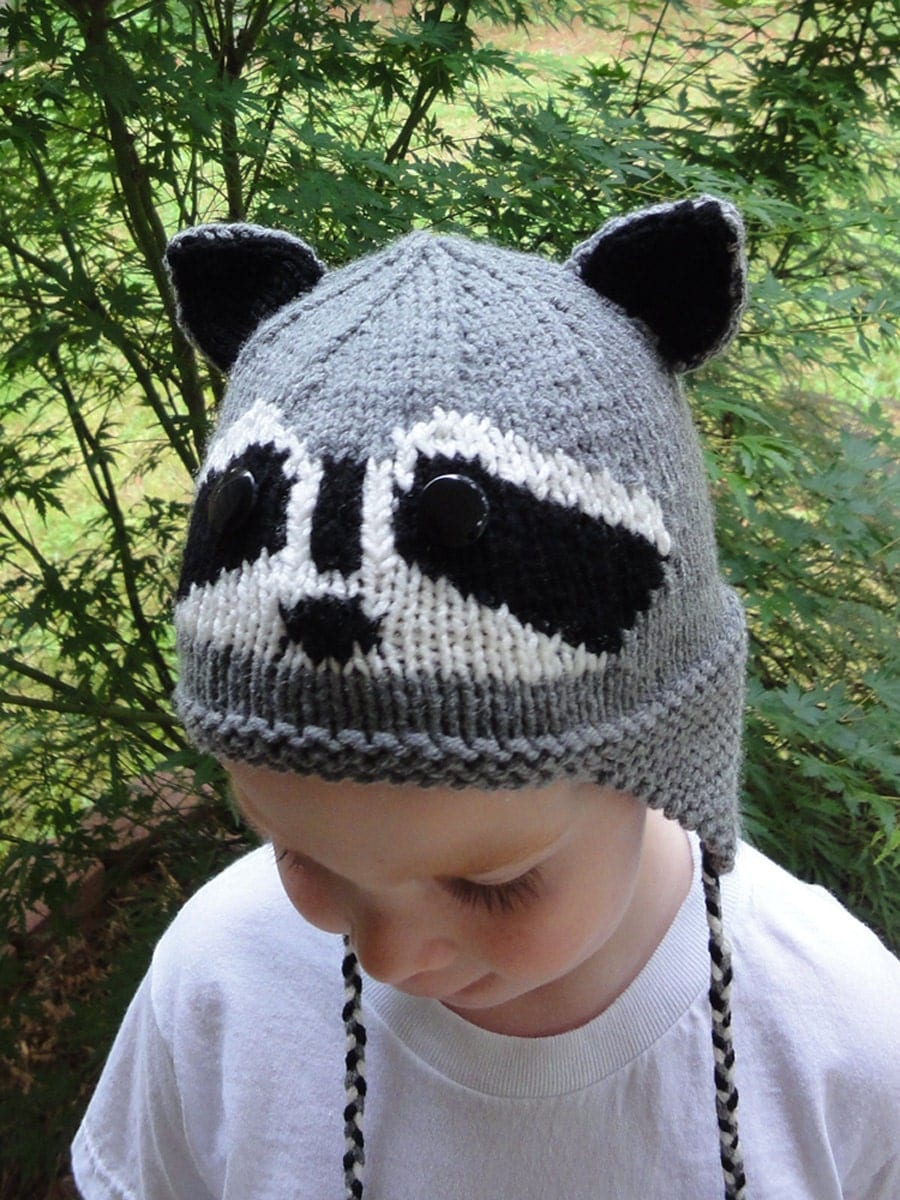 raccoon hat knitting pattern - liegeteavert45\'s soup