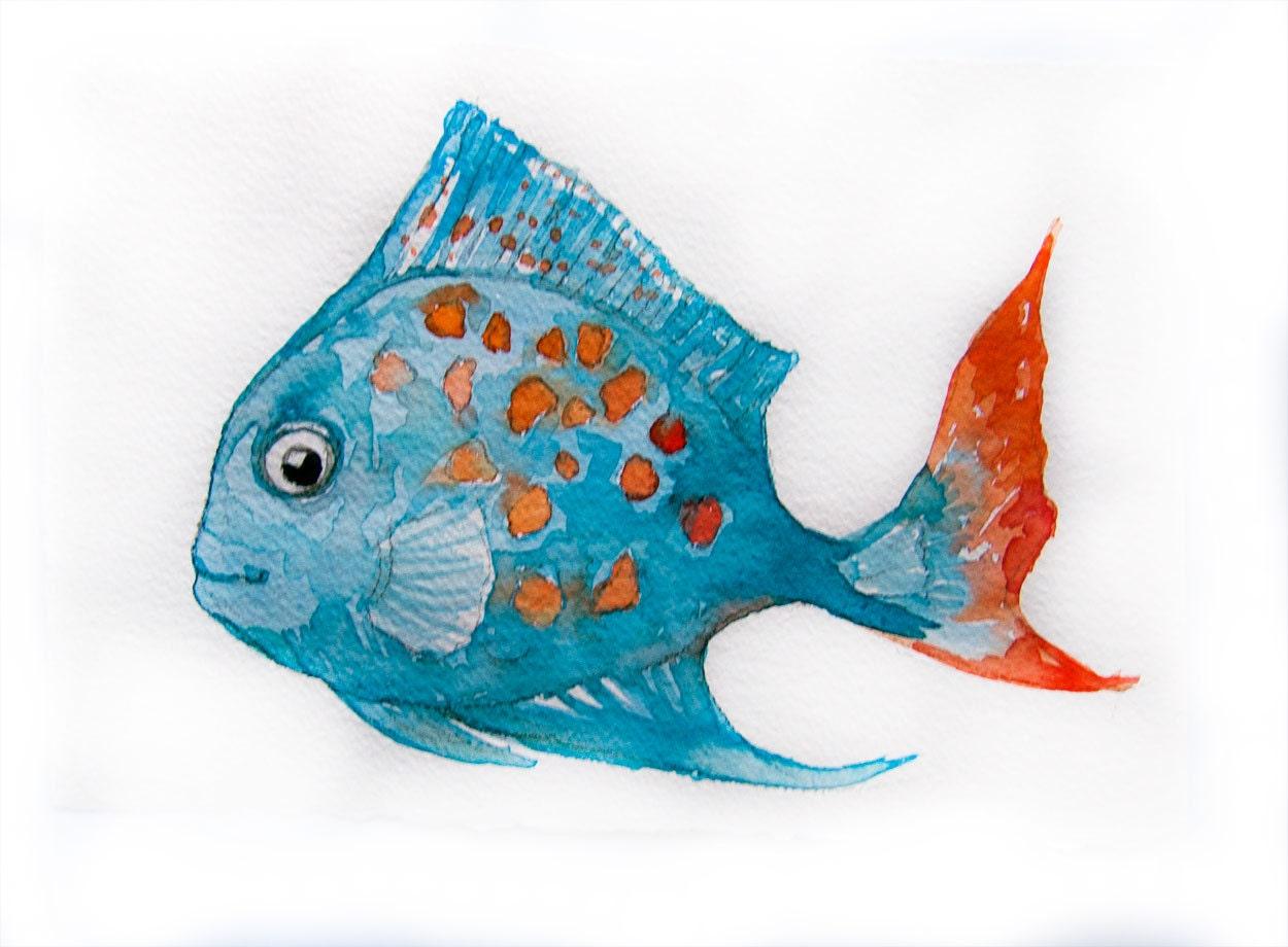 Fish watercolour