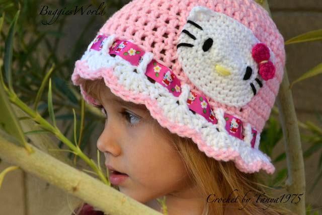 قبعات كروشيه روعة للاطفال..... il_570xN.269236102.j