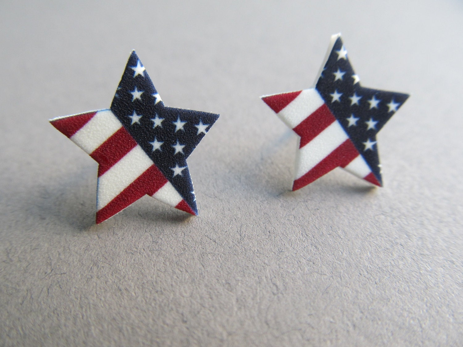 Our Stars and Stripes 4th of July Stud earrings - IrisJane