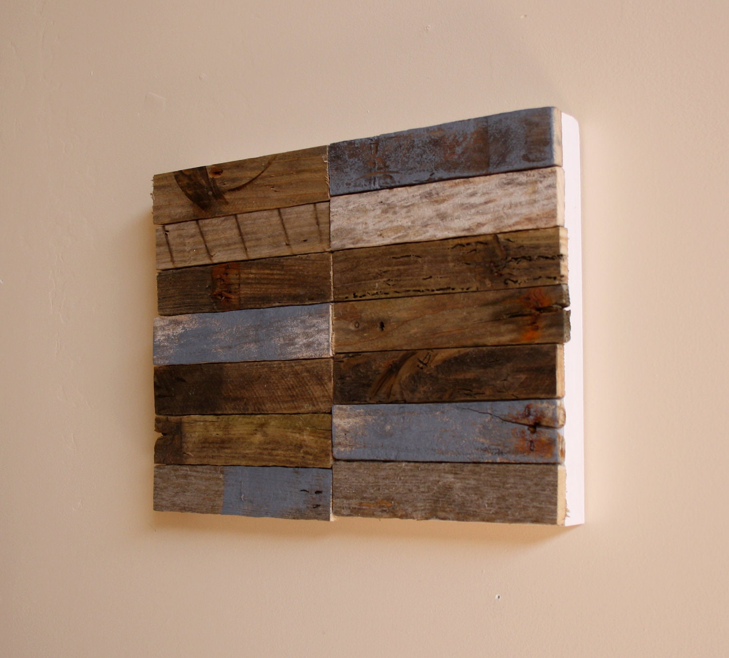 Driftwood wall art chic and art on pinterest for Driftwood wall