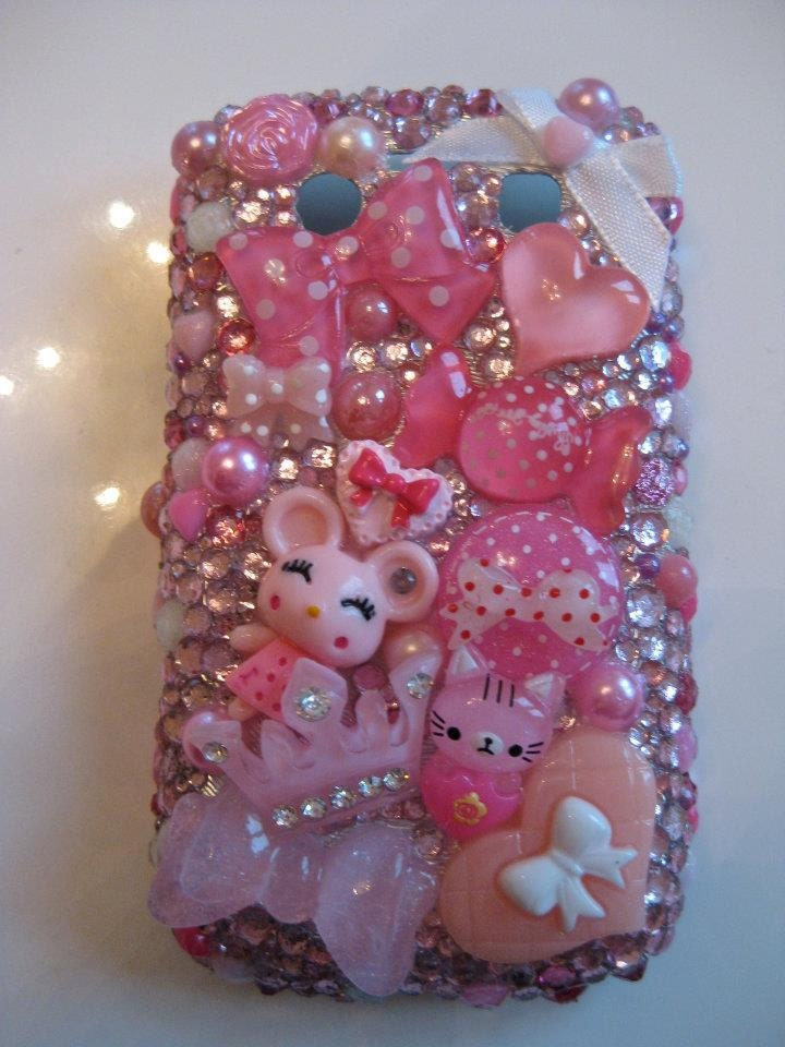 PHONE CASE 'Pink Dreams' Blackberry Bold