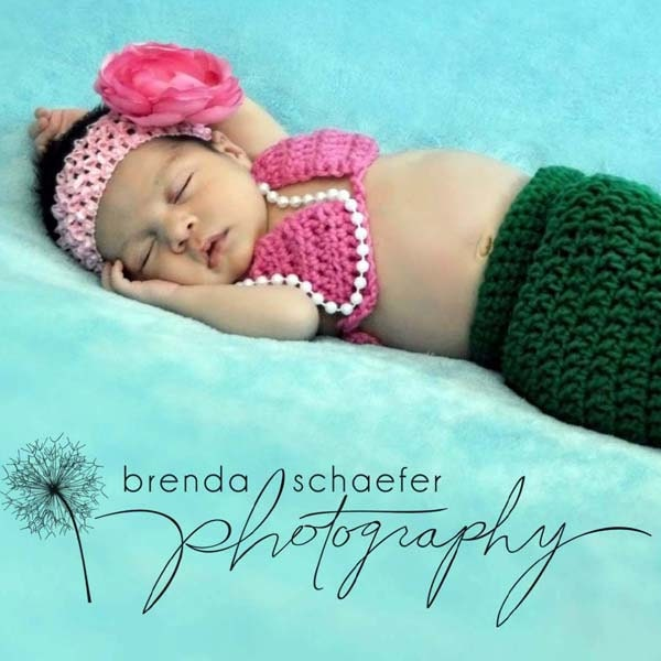 Baby Bikini Top Crochet Pattern. From RebeccaAnnCreations