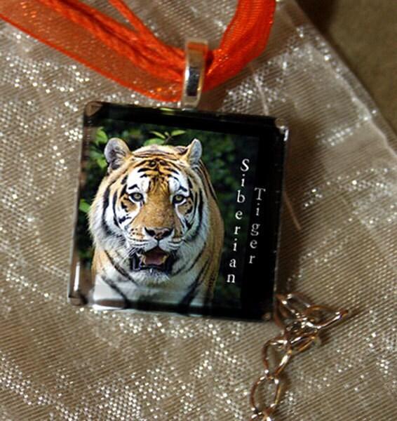 Siberian Tiger Pendant