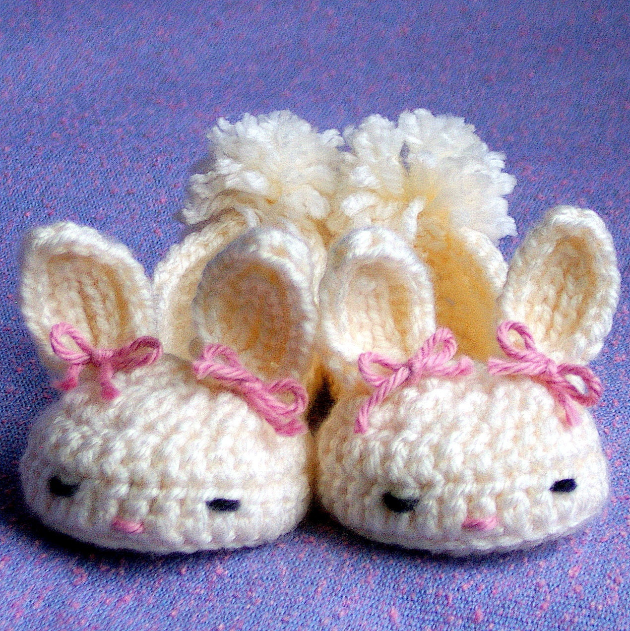 Free Crochet Pattern For Bunny Slippers : baby bunny slippers crochet pattern Quotes