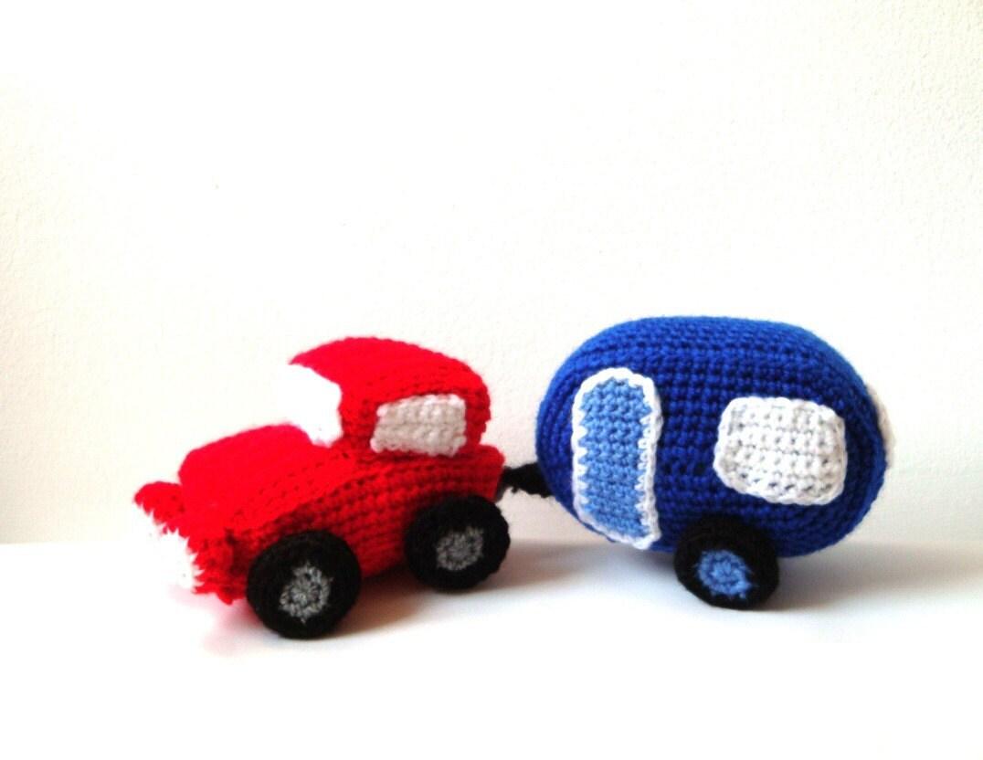 Amigurumi Patterns Cars : Amigurumi Car