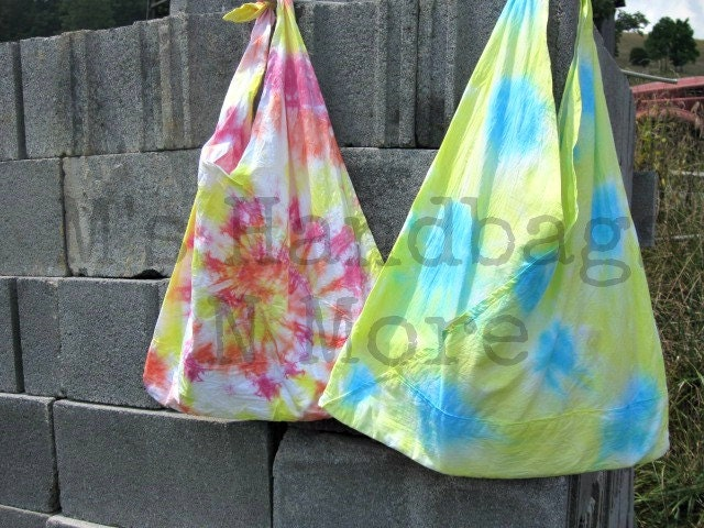 Tye Dye Bag by Megan on UpcycleFever