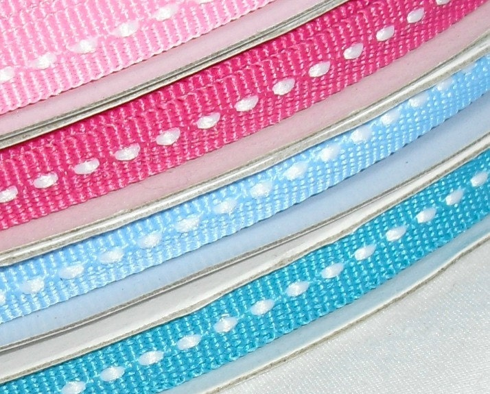 "4 Spools of Ribbon Special...1/4"" X 25 yards each (no coupon code please) - ThisandThatCrafter"