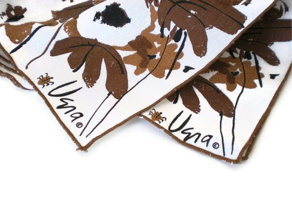 Vintage Vera Napkins Set of 2 - FourthCoastVintage