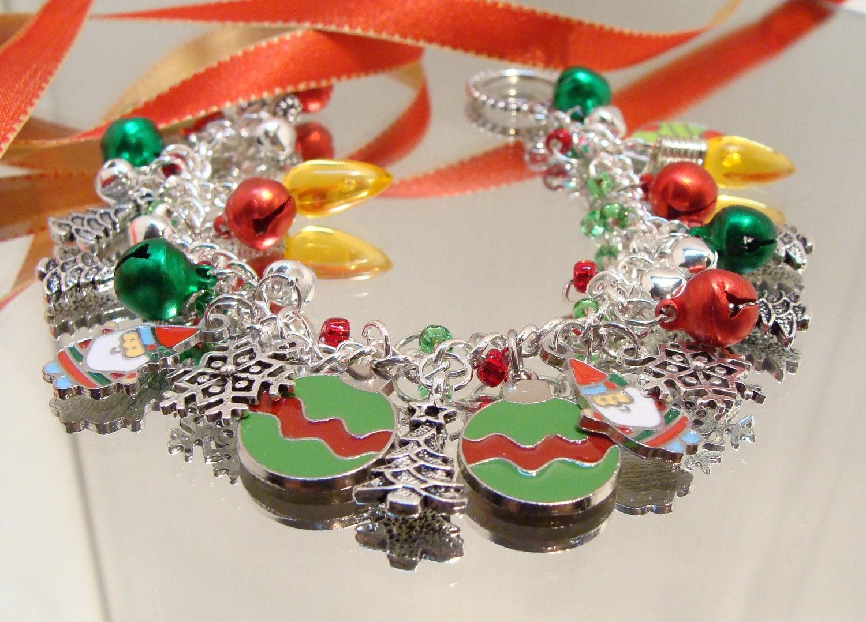 Charming Christmas Bracelet