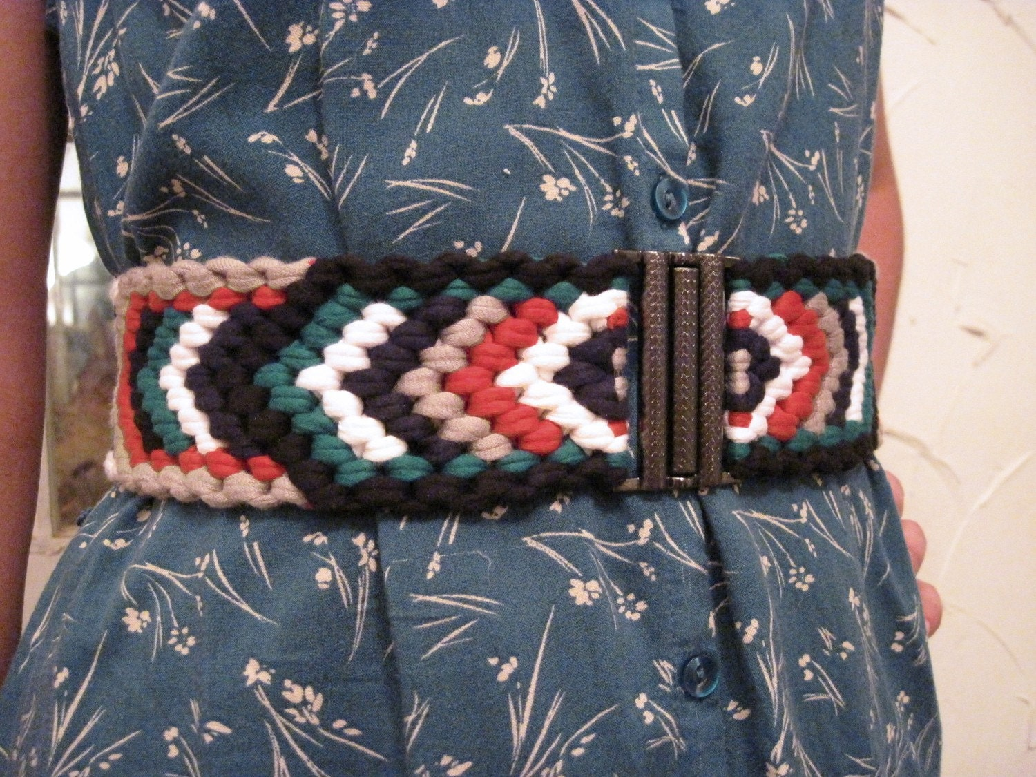 WILD RIVER, hand woven stretch belt THICK 6 color