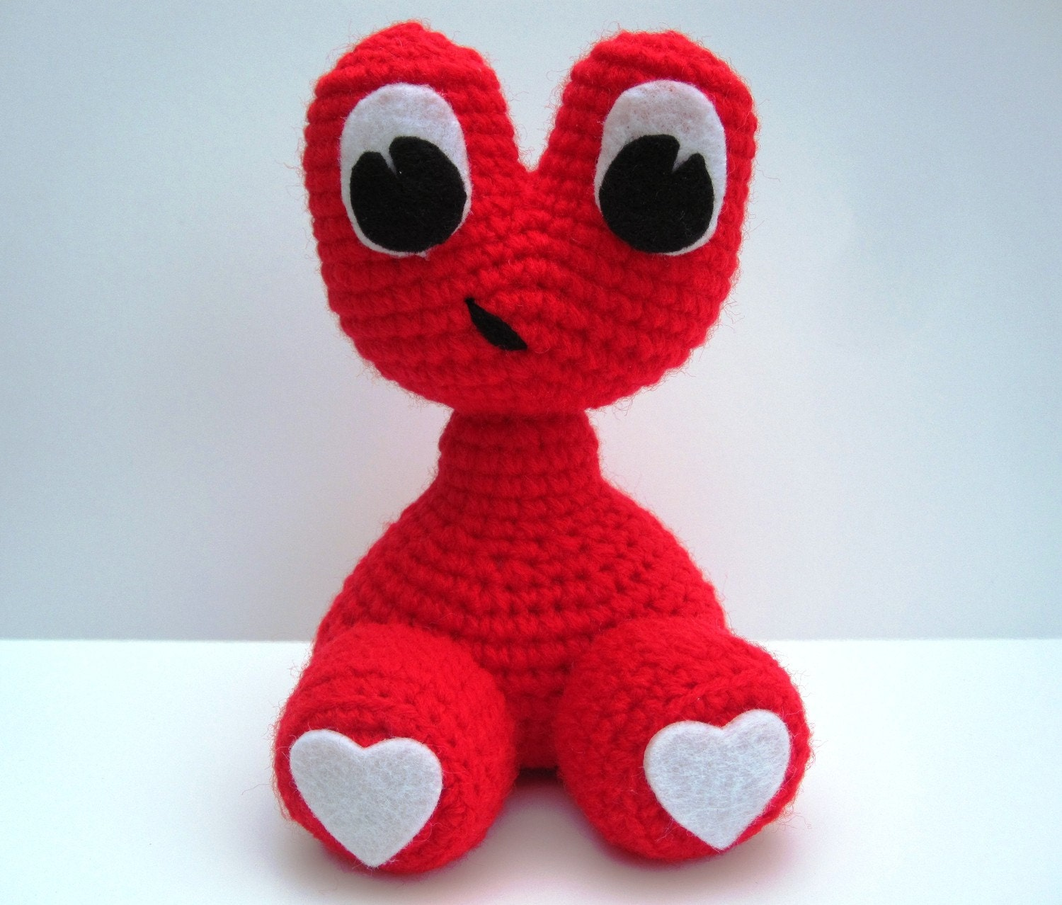 "Crochet Pattern Amigurumi Alien Monster ""Love Baby"" Amigurumi Pattern- PDF Format- Permission to Sell what you make"