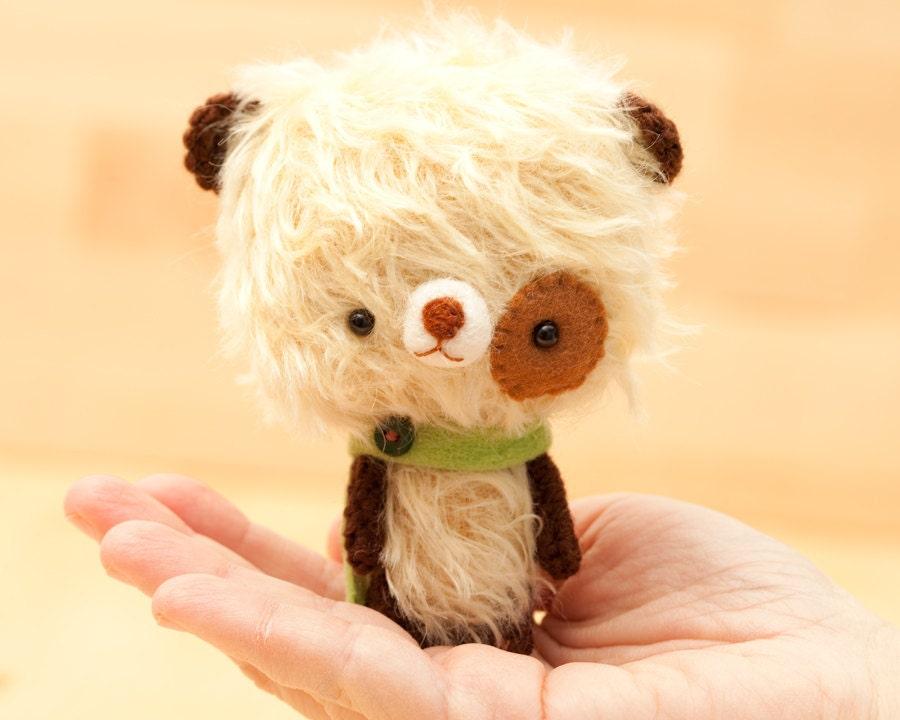 Milun mohair teddy bear plush - made to order -