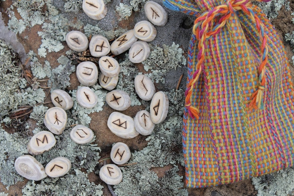 The Runes Elder Futhark Rune Set - inkleing