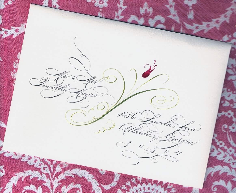 Laurens Wedding Envelope Addressing Deposit Private From eDanae