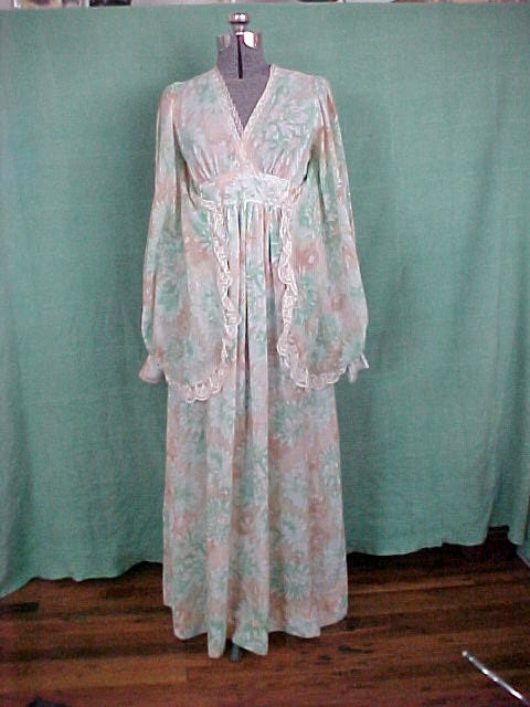 Dress Flower Child 11 Mod Hippie Boho Spring Summer Wedding Garden Party