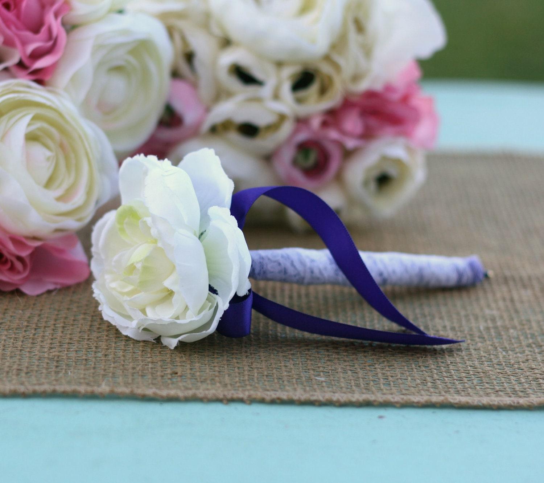 Custom U PICK цветок и лента кружева цвета потрепанный Сельский шик Гостевая книга Pen Розы Декор