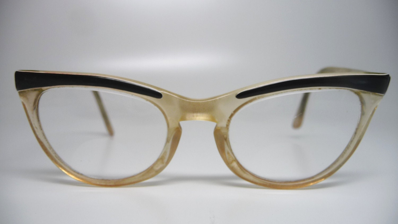 Vintage SHURON 1950s child cat eye glasses - Sugarguts