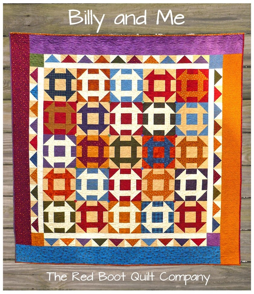 PDF - Billy and Me - PDF Quilt Pattern