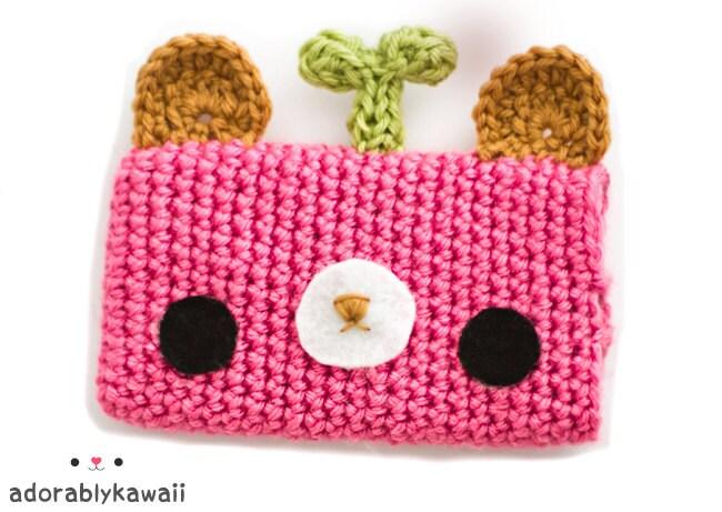 Kawaii Bear iPhone Cozy