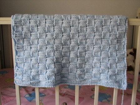 Crochet Baby Blanket Basket Weave Pattern : BASKETWEAVE CROCHET PATTERN - FREE PATTERNS