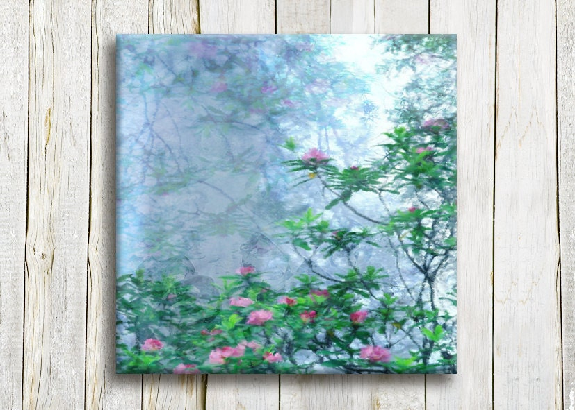"Landscape art, Canvas art, 12""/12"", FREE SHIPPING - hayagold"