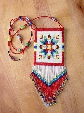 Beaded Bags Patterns Free : BEAD KNITTING AMULET BAG PATTERNS - Free Patterns