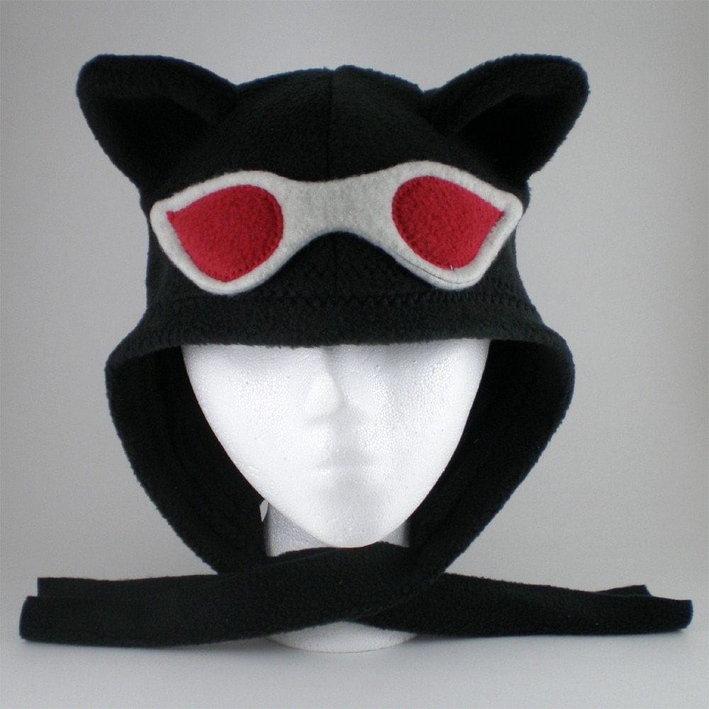 Catlady Cowl in midnight black