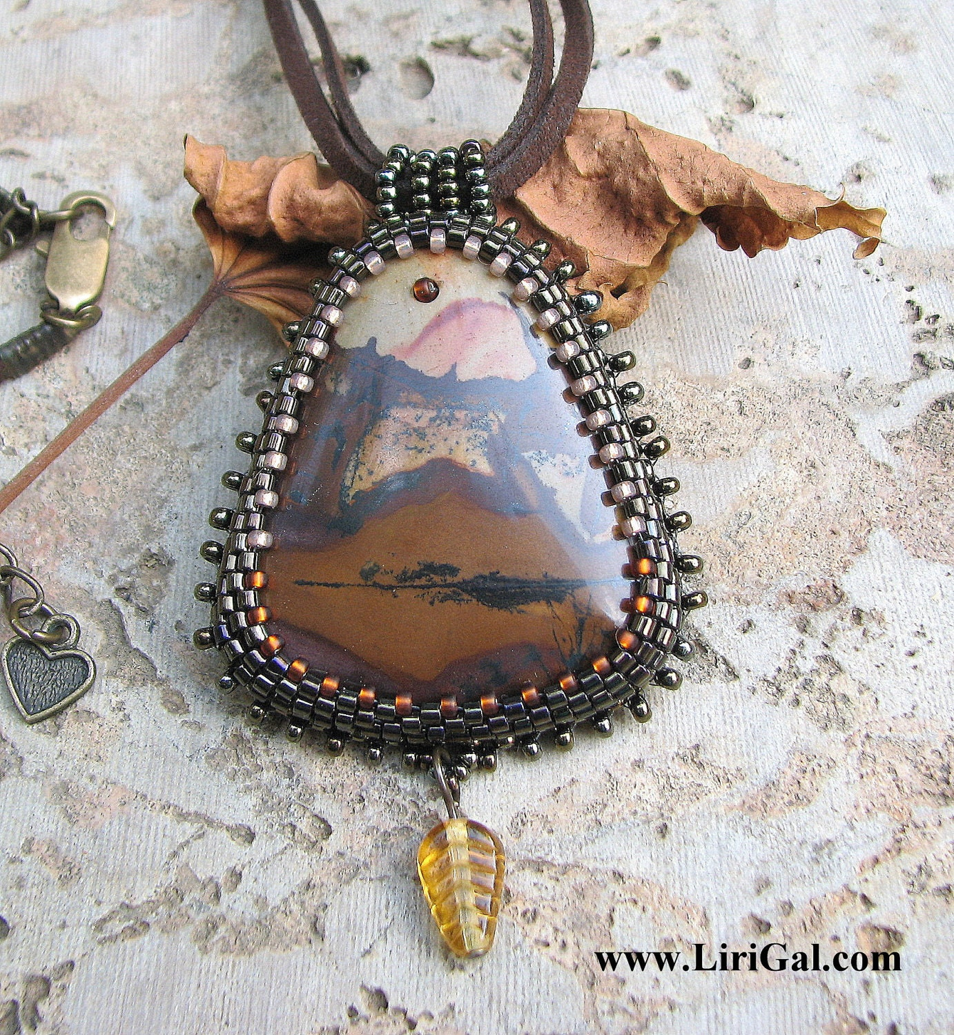 Grand Canyon Jasper Pendant