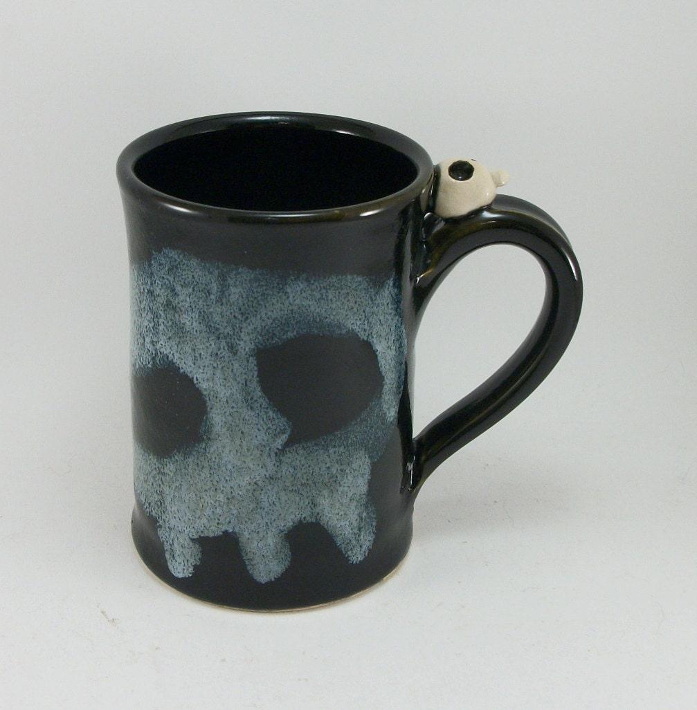 badass skull mug