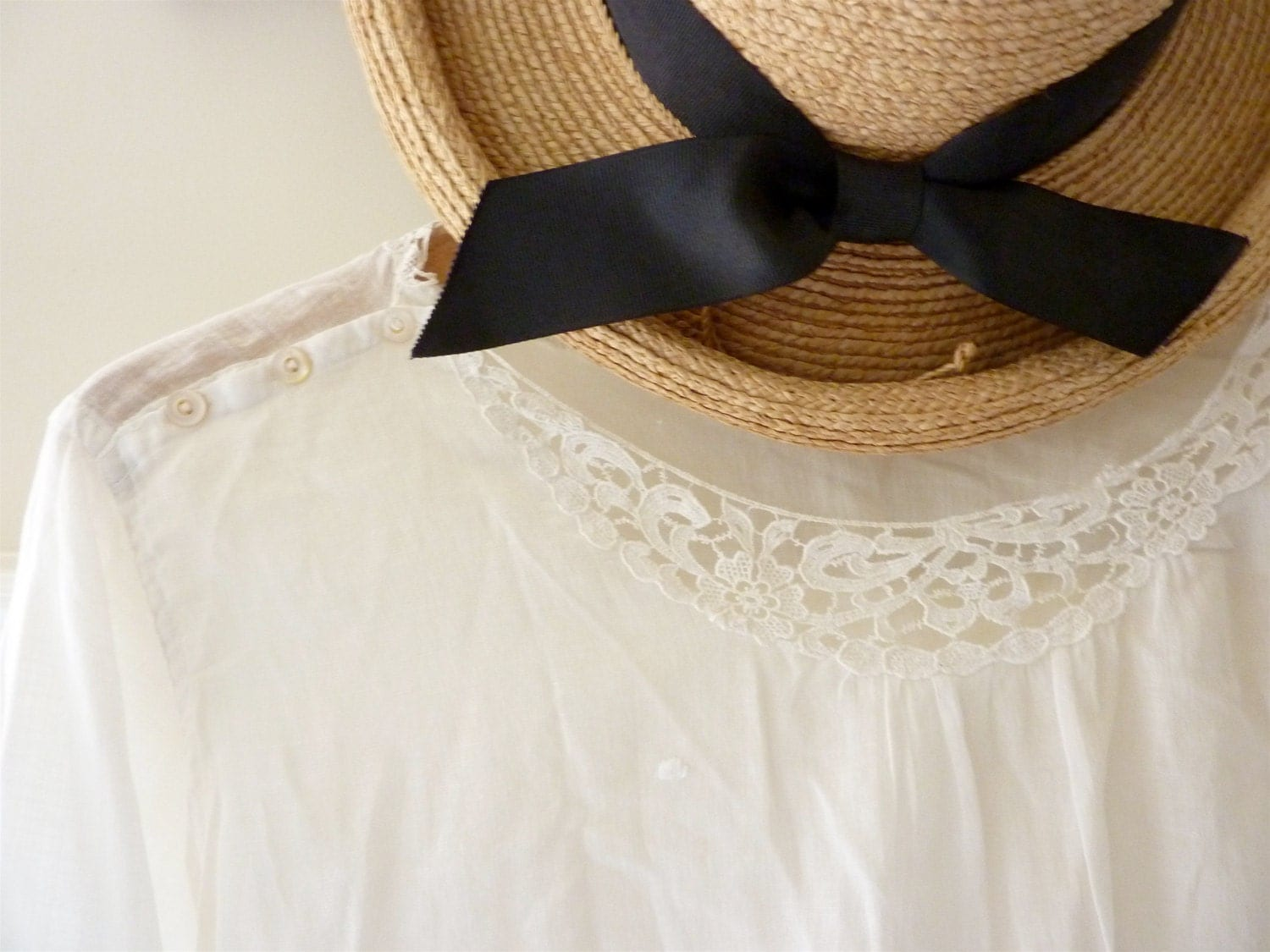 Lucy's Ivory Blouse - gardenofsimples