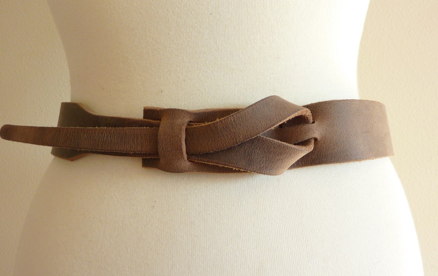 Safari Outback Brown Leather Belt by Muse  1-1/2 inch Nickel- Free  Plus Sizes Available - MuseBelts