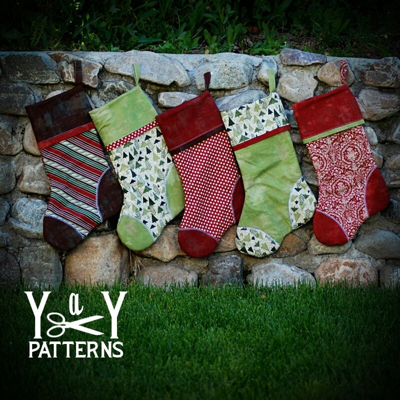 Sewing Patterns For Christmas Stockings Free Christmas Stocking Sewing